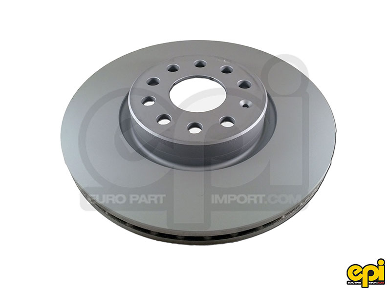 Front brake disc Z-coat 312mm MK5-MK6 / Tiguan / A3 / TT