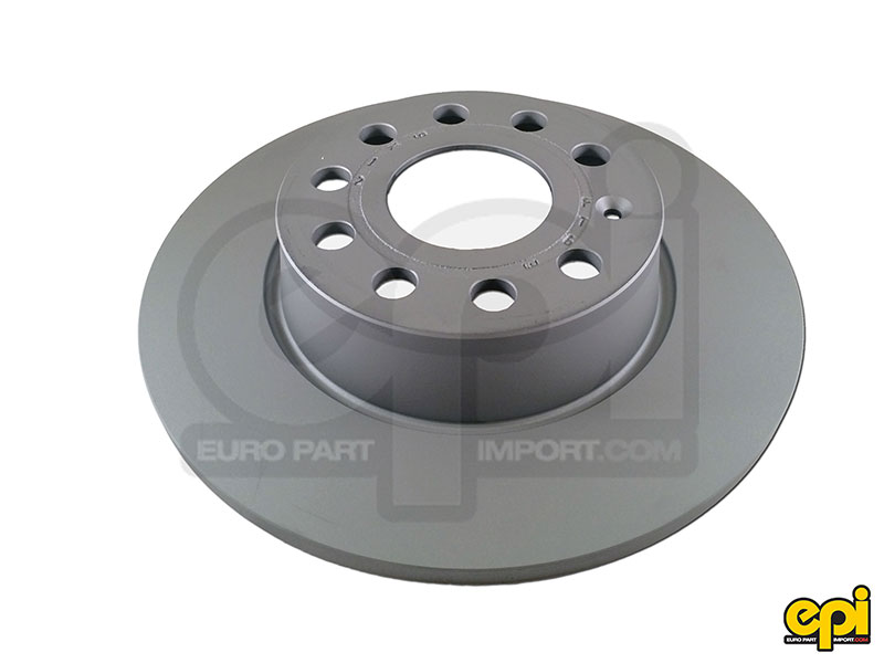 Rear brake disc Z-coat 253mm Jetta MK6 / A3 2wd / MK7 TDI