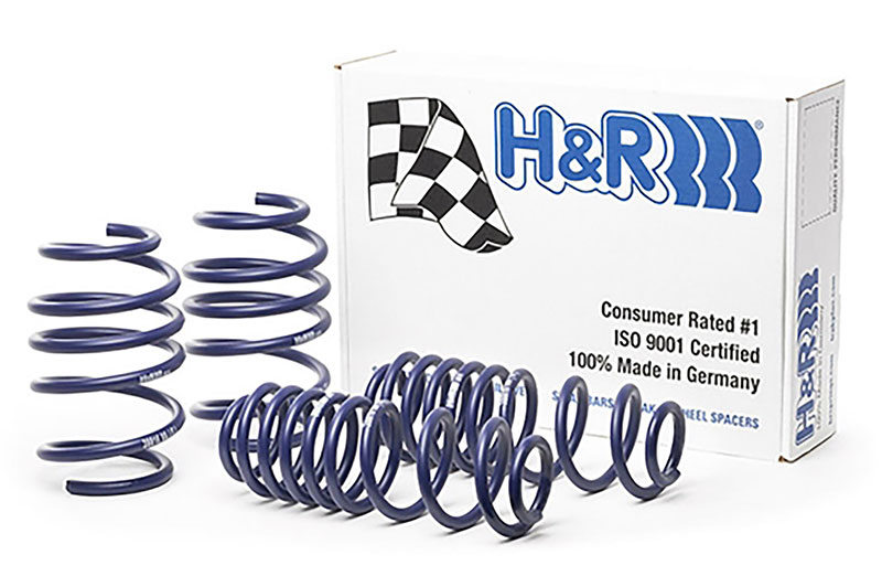 H&R Sport lowering springs Golf R MK7